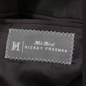 Hickey Freeman Jackets & Coats - HICKEY FREEMAN BOY'S BROWN SUEDE BLAZER SZ 14